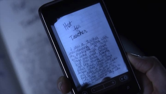 This story was originally written by Paige about her female french tutor.