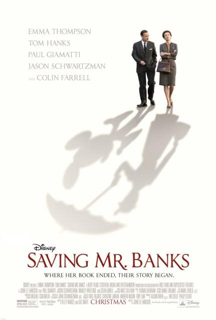 Movie poster for Saving Mr. Banks