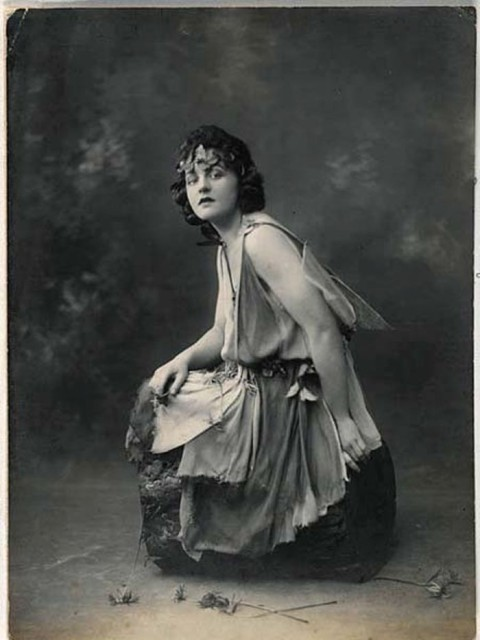 P.L. Travers as a young actress, 1924.