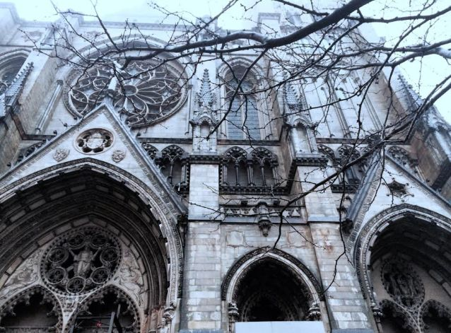 a visit to the Cathedral of St John the Divine