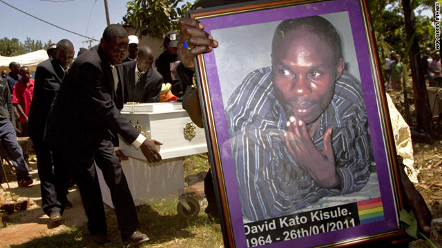 David Kato, a Ugandan activist murdered for his LGBT activism via CNN