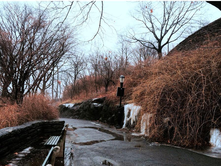 The treacherous hike to the Cloisters Museum