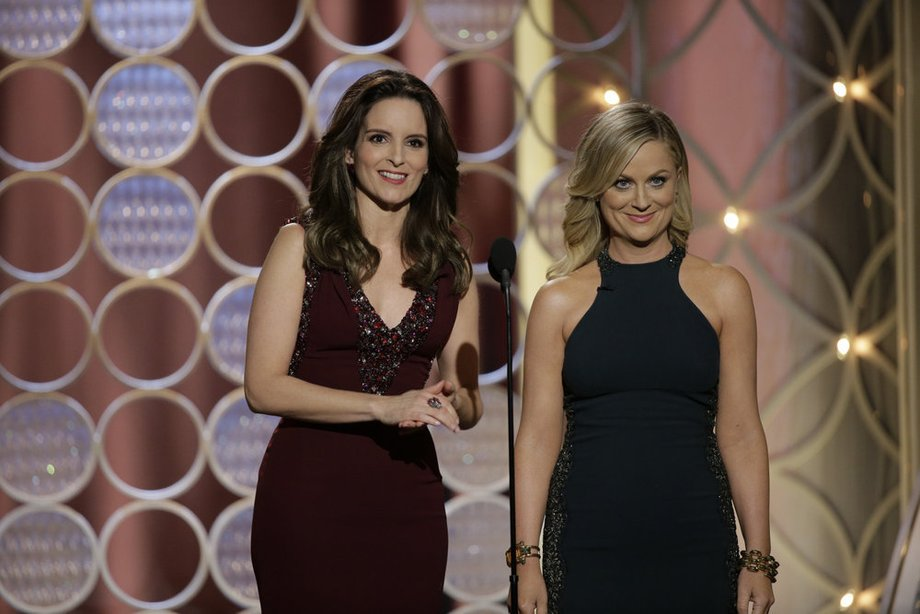 Hi I'm Tina Fey and this is Amy Poehler. We're best friends and you're jealous.