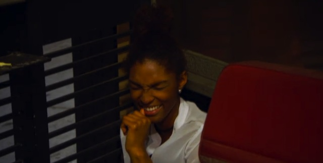 laughing at ashley