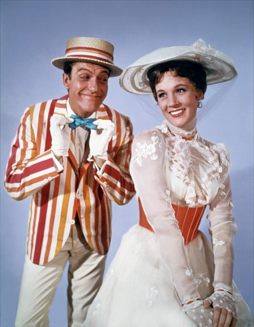 In the film, Travers fights to keep Bert from being portrayed as a romantic interest. In the books, Bert is a groupie and Mary Poppins is characterized as strident and plain looking, which some read as butch.