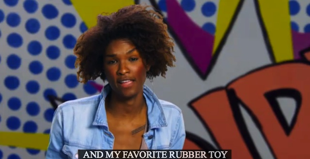my favorite rubber toy