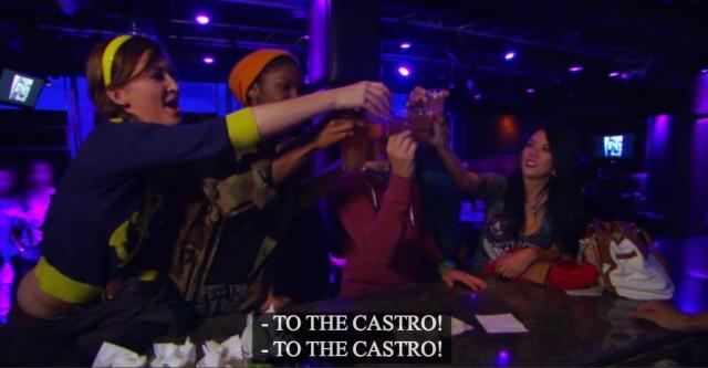 to the castro
