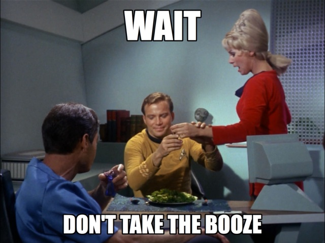 Instead of being a doosh, why don't you make your own fucken lunch, Kirk?