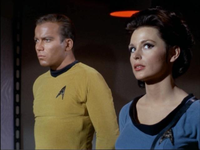 Oh god, she's the one who caught me dressing Spock up like a little elf!