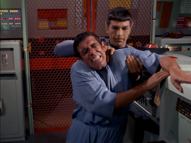 You don't want a massage from Spock.