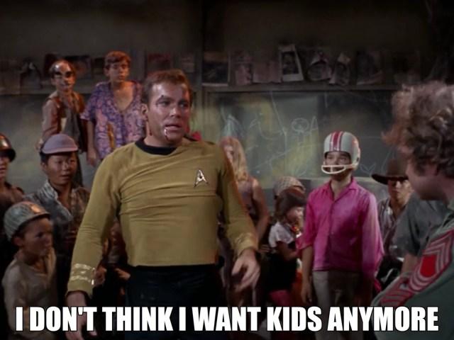 Why Kirk became a Starfleet Officer and not a teacher.