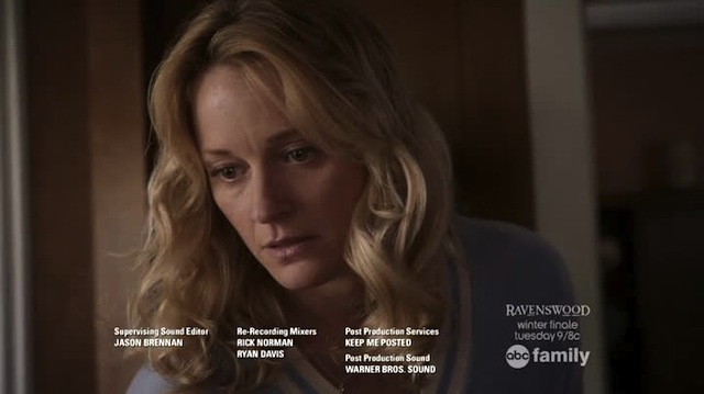 This is how the show ends, not with a bang but with a worried Stef looking gorgeous as ever.