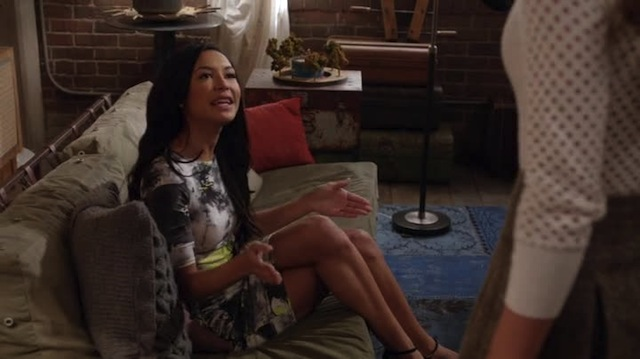 Look, I spread my legs, and you just stick your head between them and go for the gold. It's really quite simple, Rachel.