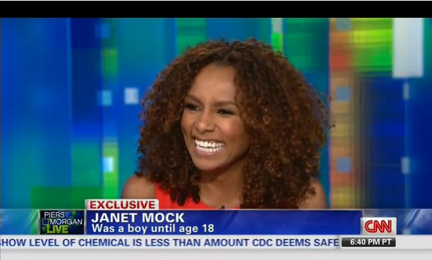 Janet Mock was not a boy until age 18