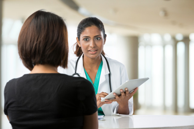 """""""You have SO MANY options to procure your hasty abortion. Let me tell you about them."""" via Shutterstock"""
