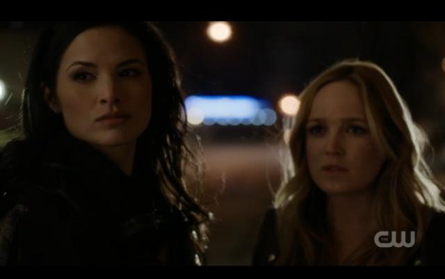 Nyssa and Sara, AKA Black Canary