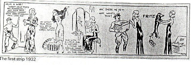 THE FIRST JANE GAY STRIP. SHE ALSO LOVED DOGS.