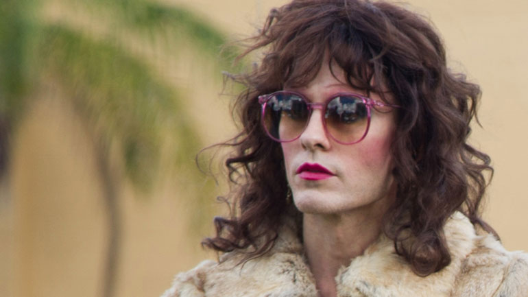 Jared Leto playing Rayon in Dallas Buyer's Club