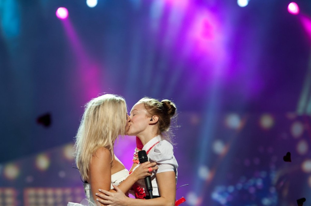 "Finland's Krista Siegfrids made out with a lady at the end of her song ""Marry Me"" last year, which lots of us do every day but not all of us have the honour of being pulled from Turkish TV broadcasts for it via Wiwi Bloggs"