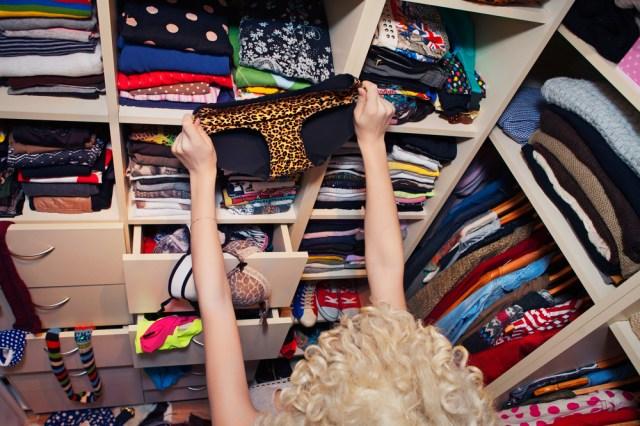 This underwear totally goes with my new cheetah-mermaid look! Via Shutterstock