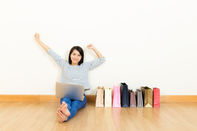 I'm gonna do all my new clothes shopping through Autostraddle affiliate links! Via Shutterstock