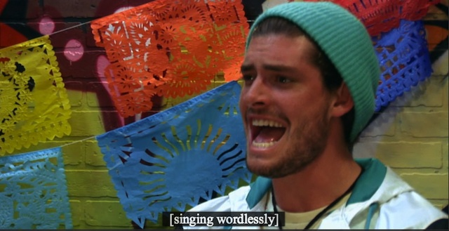 singing wordlessly