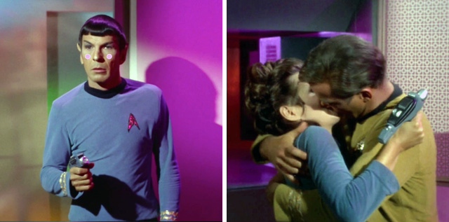 Caption: Spock's speechless. Poor thing.