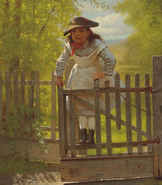 TOMBOYS THROUGHOUT HISTORY HAVE TRAVELED FAR AND GIVEN UP MUCH IN PURSUIT OF SICK AIR