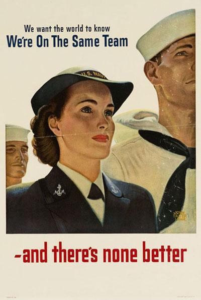 Women in uniform, amirite?