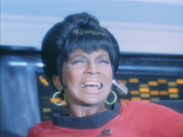 If Uhura's worried, then I'm worried too!