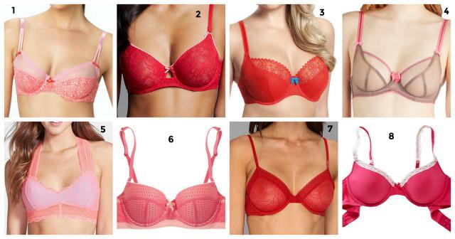 1-Femmey Pink Bras