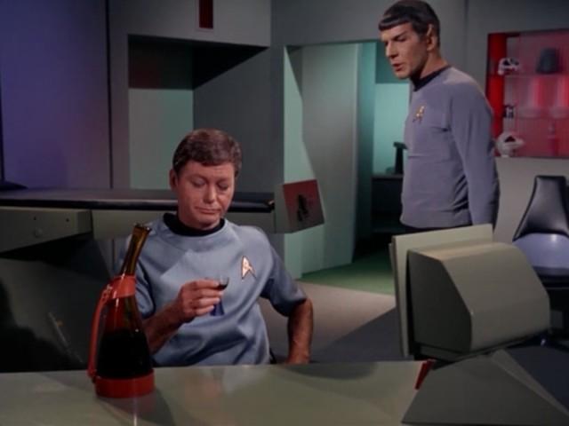 Dude, Spock, you're ruining my buzz.