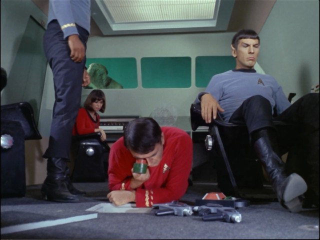Spock can't figure out where his logic went wrong.