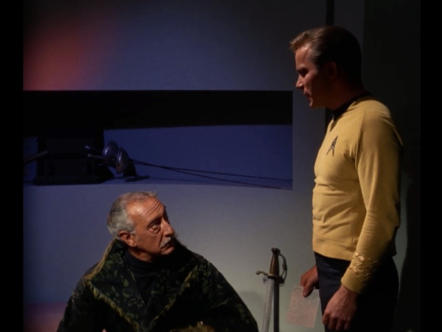 Kirk: So wait, are you actually Hitler?