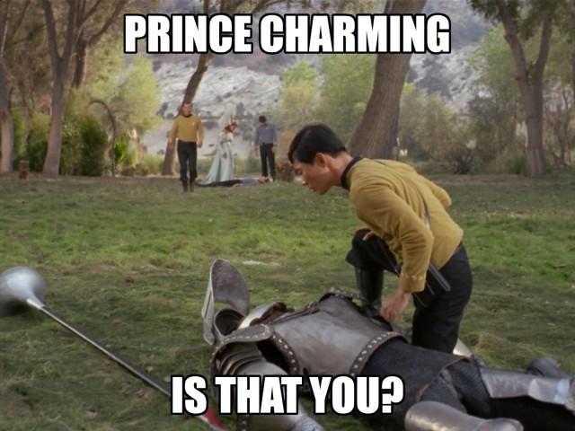 Nope. Sorry Sulu!