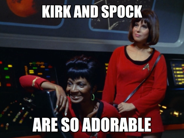 Uhura and Mears are gonna write fanfic about this later.