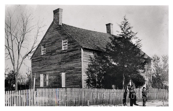 This church was built in 1823 as the Moravian church for African Americans via Learn NC