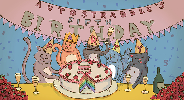 Autostraddle 5th B'day_Cats plus changes_Rory Midhani_640px