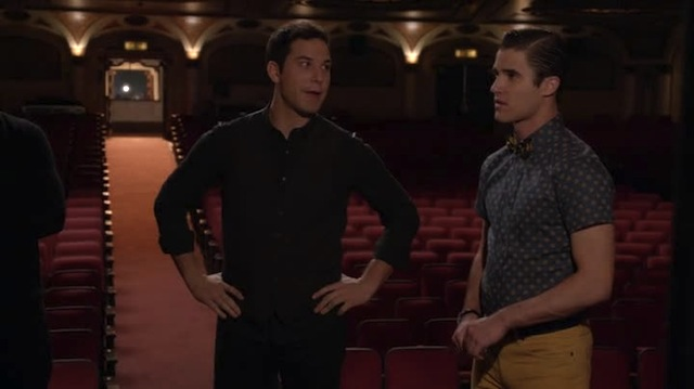 C'mon dude, don't pretend like you and your Warblers never invited me to a midnight orgie before.