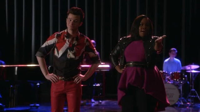 Then I told kurt that his shirt and red leather pants made me embarrassed to be alive, and he totally forgave me!