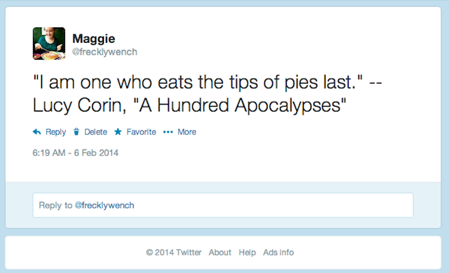 A quotation I recently considered to be worth archiving in my Twitter feed.