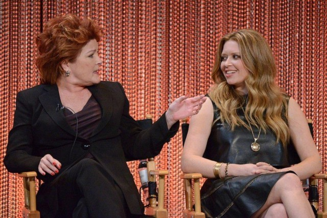 Kate Mulgrew and Natasha Lyonne via laist