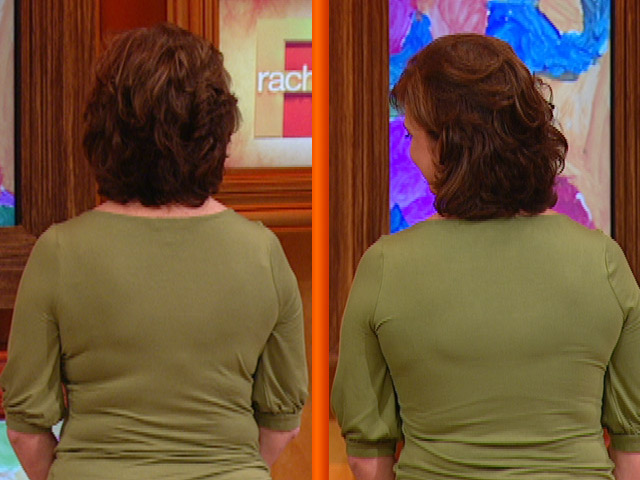 Spanx on Rachel Ray. Yes. we're still doing the before/after shot.