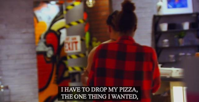 drop my pizza