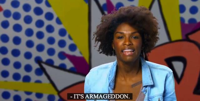 it's armageddon