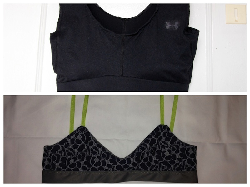 Make a Thing: Sports Bra and Wireless Lace Bra | Autostraddle