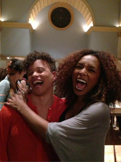 Reina Gosset and Janet Mock via Tumblr