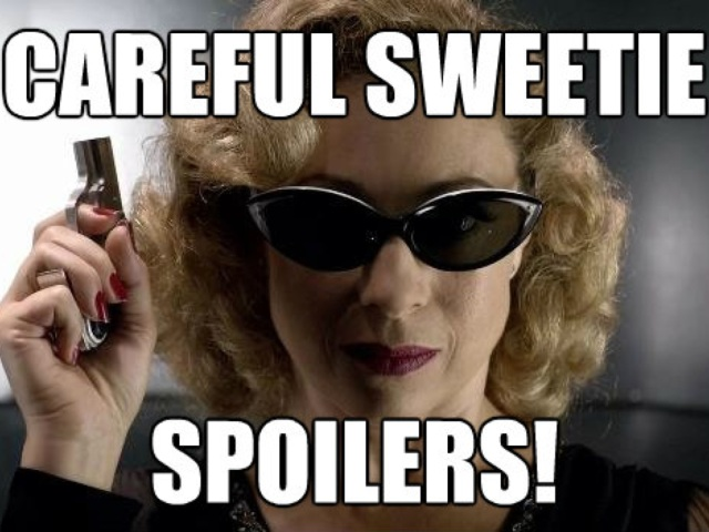 I just wanted an excuse to post a River Song pic. Credit: Dorkland!