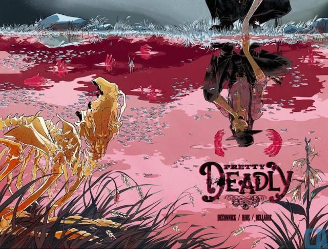 Pretty Deadly cover art by Emma Ríos