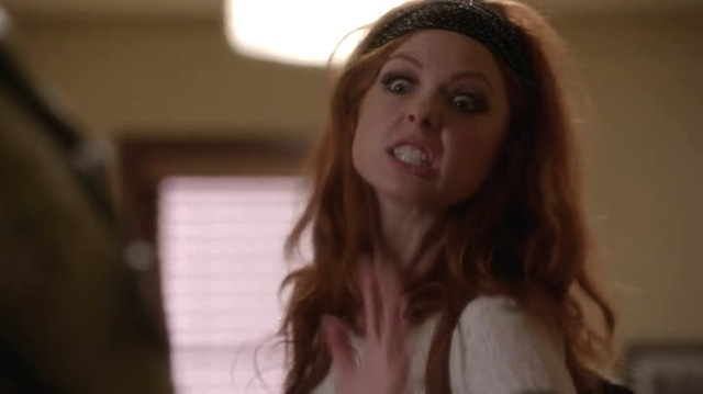 "This is the facial expression I used to seduce Jessica on ""True Blood"" AND IT WORKED"